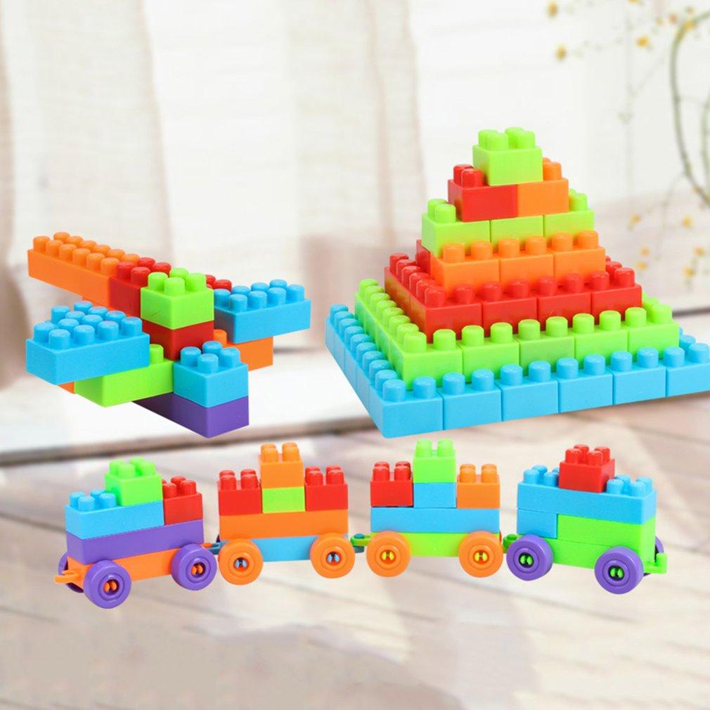 135 Pcs Diy Bausteine Set City Kreative Pädagogisches Bricks Kompatibel Bausteine Spielzeug Kinder Festival Geschenk
