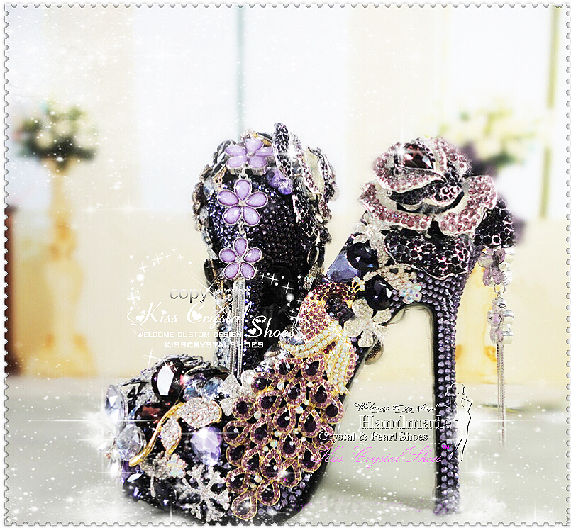 New Handmade Luxury purple shoes for wedding wedding shoes purple ... 3c04ac83462b