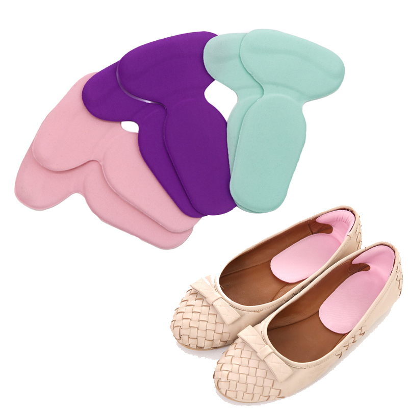 5Pairs High Heel Protectors Orthopedic Insoles Soft Gel Insoles Foot Care Tool Cushion Insoles Pads Anti Slip Inserts Shoe Pads