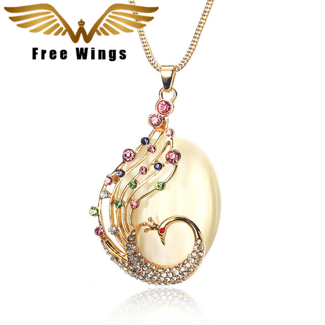 Vintage Luxury Moon plated gold color Plated Jewelry High End Chain