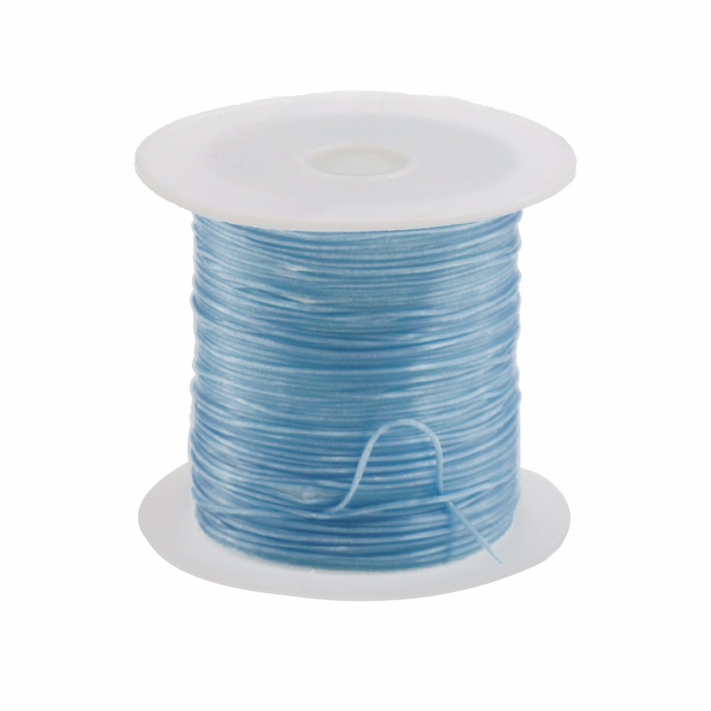 Wire 10m Roll 06mm Colorful Stretchy Elastic Cord Crystal String Electrical Wiring For Diy Jewelry Making
