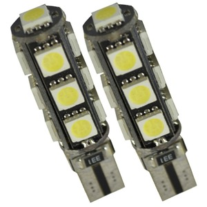 Image 3 - 10 stks W5W T10 13 SMD 5050 Led Canbus Auto auto Kentekenplaatverlichting Reserve Licht Dome Gloeilampen 12 V wit