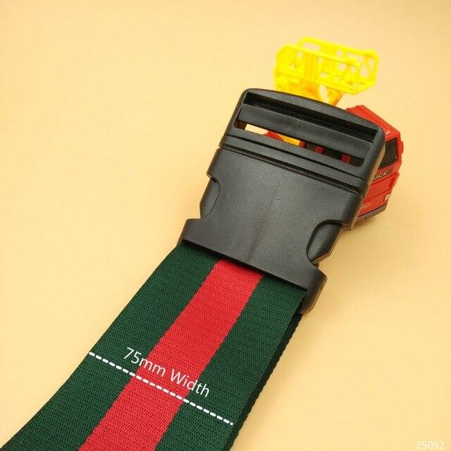 Plastic strip buckles