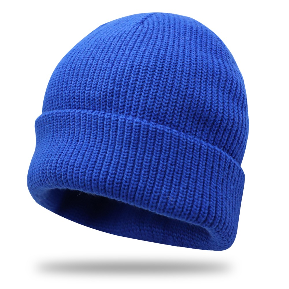 New Skullies Beanies For Women Men Brand Cotton beanie Winter Knitted Caps Woolen Hat Casual Unisex Solid Color Bonnet