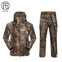 Heißer Verkauf Taktische Männer Soft shell TAD Jacke + Pants Wasserdicht Outdoor Jagd Fleece Jacke Wandern Camping Sport Anzüge