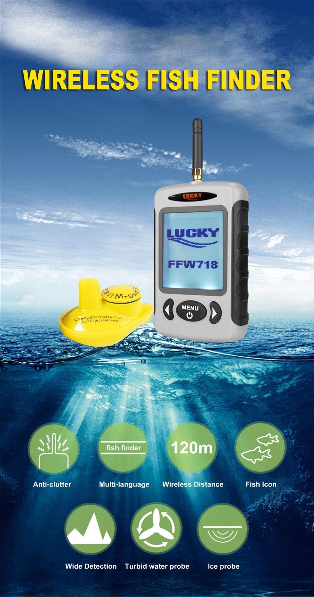 FFW718 fish finder