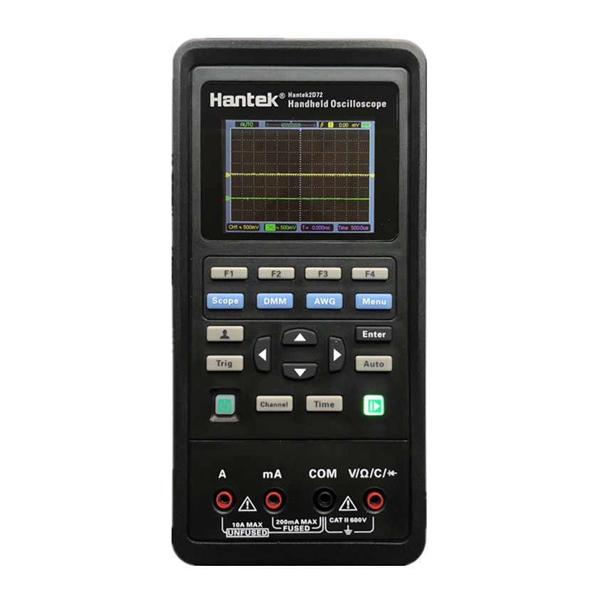Hantek 2D72 3 in 1 Digital Oscilloscope Waveform Generator Multimeter Dual channel 2 Channel USB Scopemeter