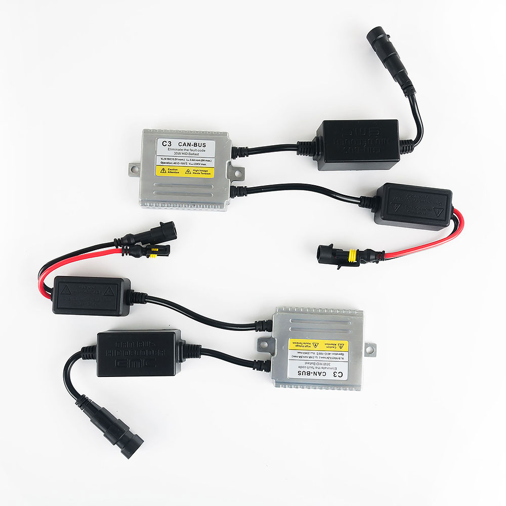C3 Canbus H7 XENON HID KIT 35W skjult lampe H1 H3 H4 H7 H11 9005 9006 - Billygter - Foto 5