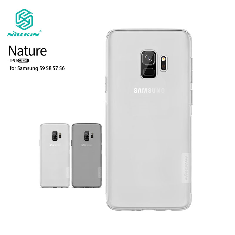TPU Case For Samsung Galaxy S10 S10+ S9 S9+ S8 Plus S7 Edge Nillkin Nature Series Soft Back Cover sFor Samsung S9 CaseTPU Case For Samsung Galaxy S10 S10+ S9 S9+ S8 Plus S7 Edge Nillkin Nature Series Soft Back Cover sFor Samsung S9 Case