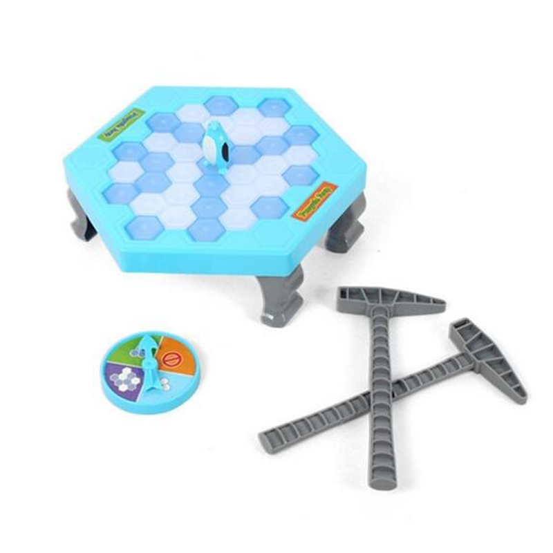 Ice Breaking Save The Penguin Funny Family Game - The One Who Make The Penguin Fall Off Will Lose This Game Great Toys #E