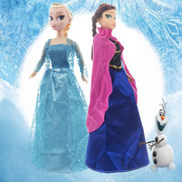 Umei 1 pcs Smart Intelligent Recording Doll Baby Toys Princess Anna and Elsa Music and Dancing Funny Doll for Kids Girls