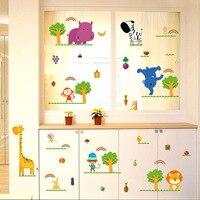 Factory Direct Sales Fruit And Fruit Animals Children S Room Kindergarten Classroom Cupboard Dress Wall Stickers