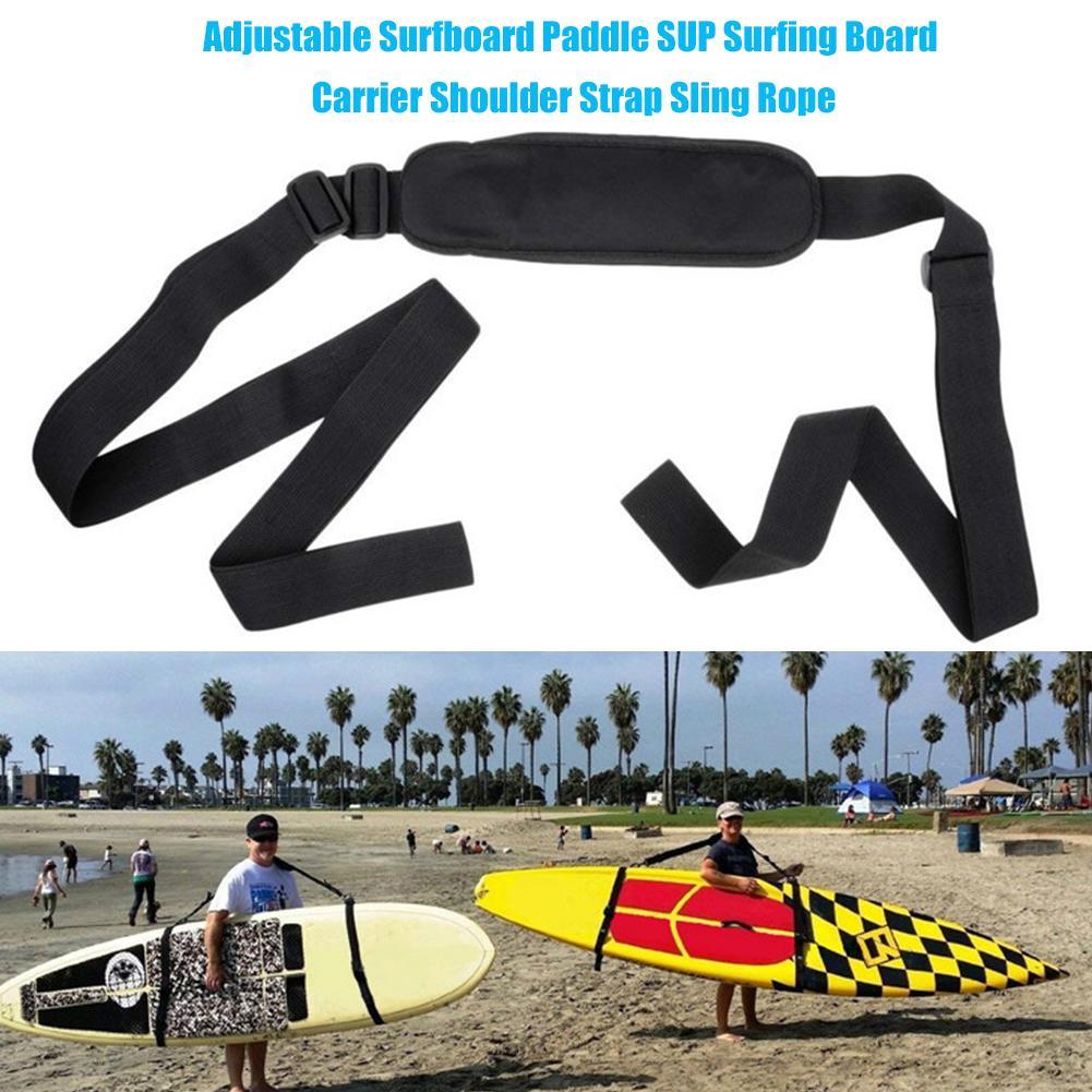Planche de surf réglable Paddle SUP planche de surf transporteur bandoulière sangle