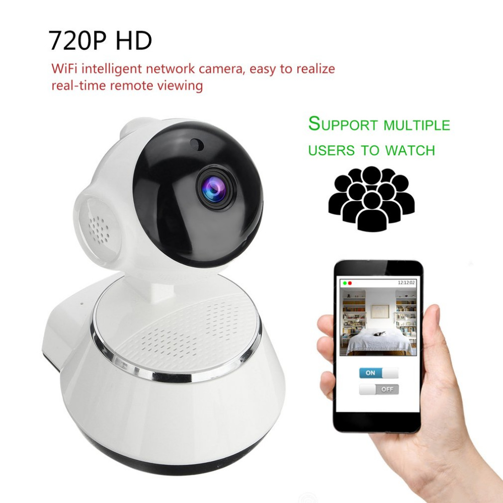 Камера видеонаблюдения Wifi ip камера HD 720 P Камера Безопасности s беспроводная сеть Videcam ночного видения широкий угол