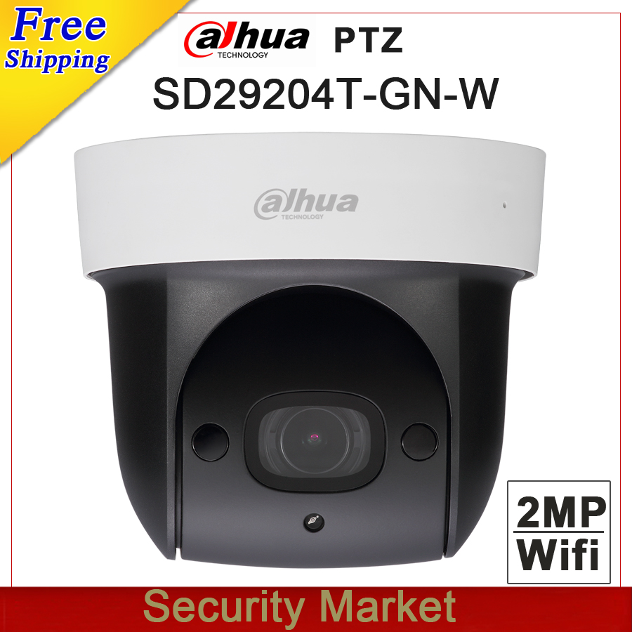 Original dahua English SD29204T GN W replace DH SD29204S GN W Wifi IP 2MP Mic PTZ