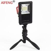 AIFENG Outdoor Waterdichte LED Werk Schijnwerper Oplaadbare Usb 30 w 2400lm Power door 18650 Batterij Krachtige Draagbare Spotlights