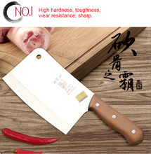 Stainless steel 5 chrome Kitchen Knives Cooking tools dual slicing vegetable / chopping /chinese cleaver / chef / fruit cutter
