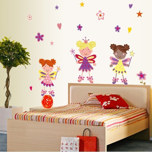 Creative Fashion Cartoon Flower Fairy Home. Online Get Cheap Fairy Bathroom Decor  Aliexpress com   Alibaba Group