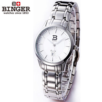 Fashion Lady Dress Watches Luxury Elegant Binger Wristwatches Women Japan Quartz Stainless Steel Relogio Clock Small Thin Watch onlyou brand luxury fashion watches women men quartz watch high quality stainless steel wristwatches ladies dress watch 8892