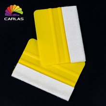 цена на Free Shipping Car Magnet Scraper Squeegee for Vinyl Film Wrapping
