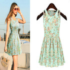 Save 0.64 on Brand Quality Casual Summer Dress Fashion Plus Size Female Tropical Summer Style Vestido De Festa Femininas Women Dress