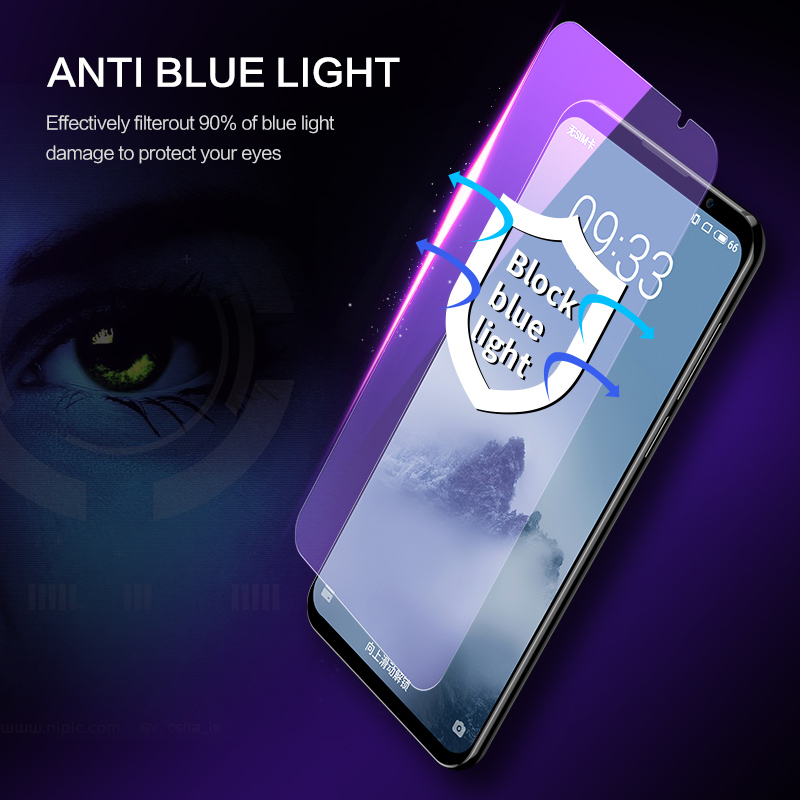 Image 3 - SmartDevil screen protector For Meizu 16th tempered glass protector film 2 pieces mobile phone toughened film anti fingerprint-in Phone Screen Protectors from Cellphones & Telecommunications