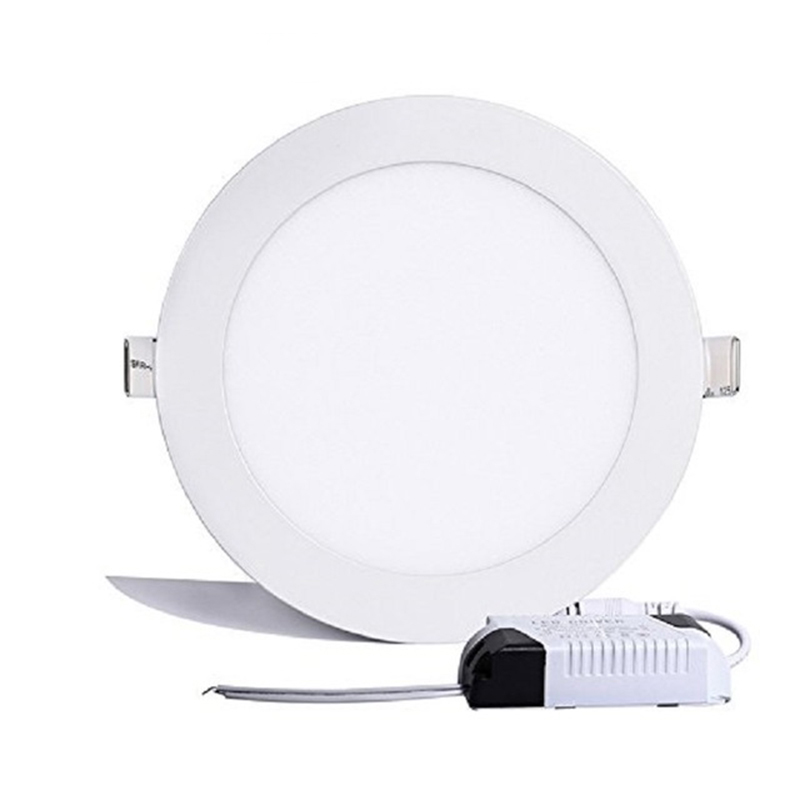 SINFULL ART 24W Round LED Panel Light Ultra Thin Recessed