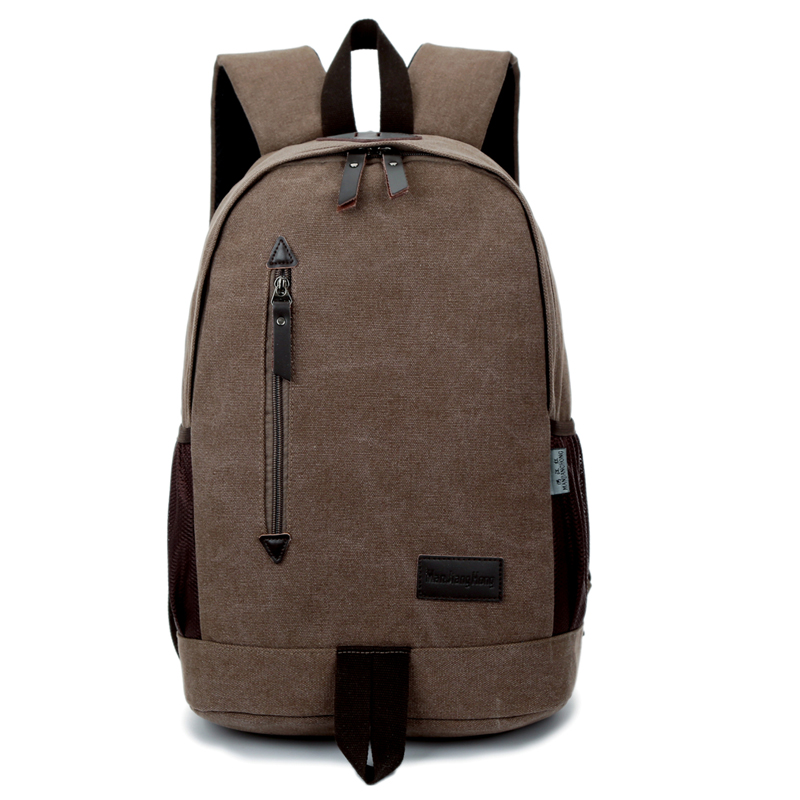 Casual Men Laptop Backpack Computer Bag 15 Inch Vintage Men Canvas Backpack Travel School Bags For Teenager Boys Rucksack Men men laptop backpack 15 inch rucksack canvas school bag travel backpacks for teenage male notebook bagpack computer knapsack bags