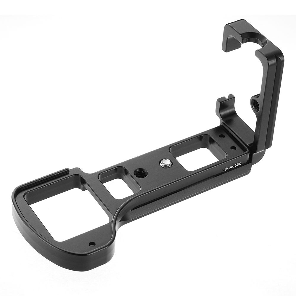 Quick Release QR Vertical L Plate Bracket Holder for SONY A6500 ILCE-6500 Camera