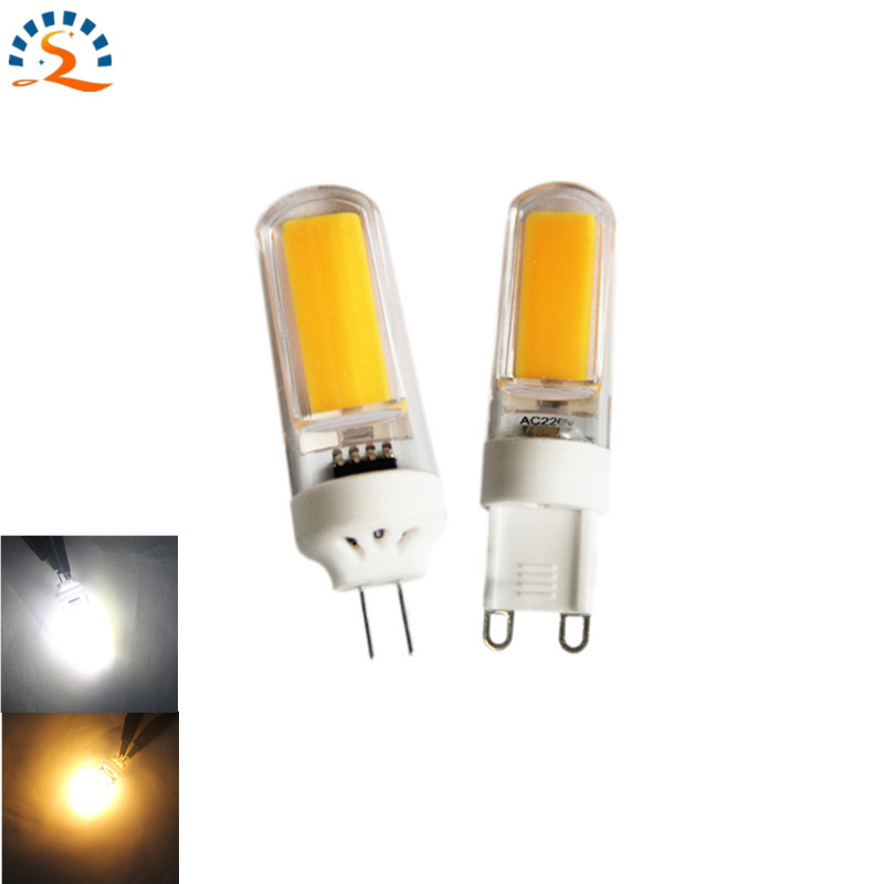 G4 Led Bulb lamp G9 Led light 12v DC 220v 110V AC Dimmable 3w 9w 200lm 300lm warm white Candle chandelier