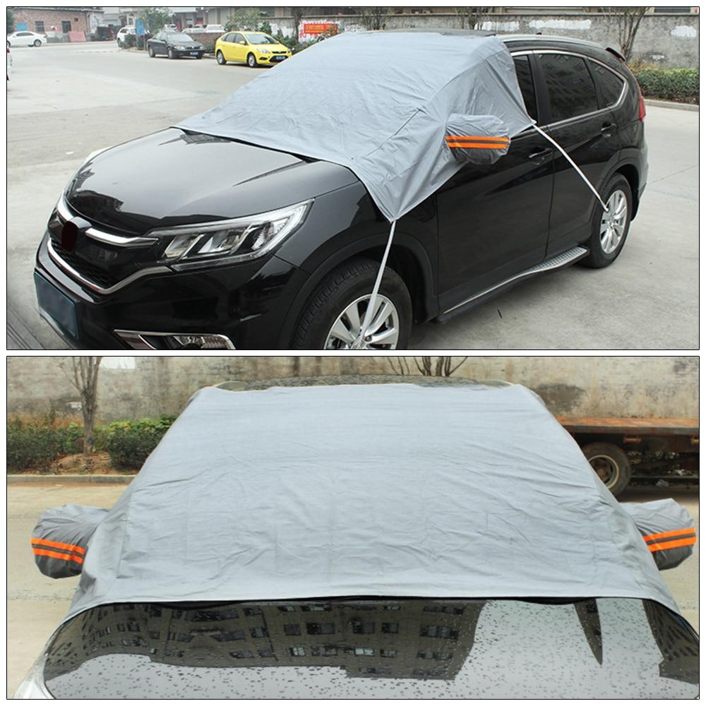 DropShip Tiptop Glass Sun Shade Fornt Rear Windshield Cover Block Shields Car Snow Ice Protector Visor Hot Sale