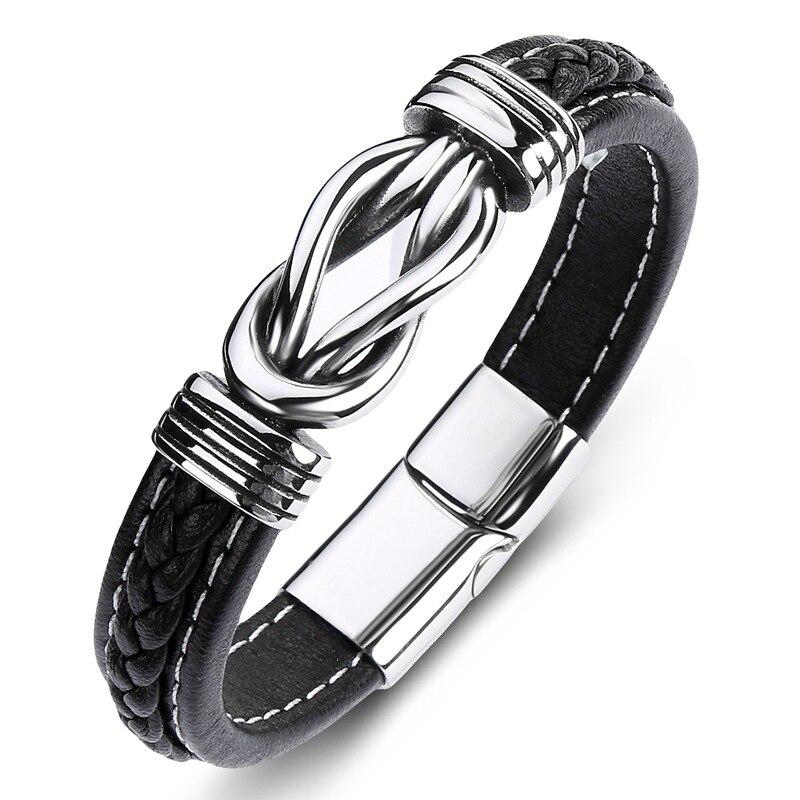 Leather Charm Bracelet...