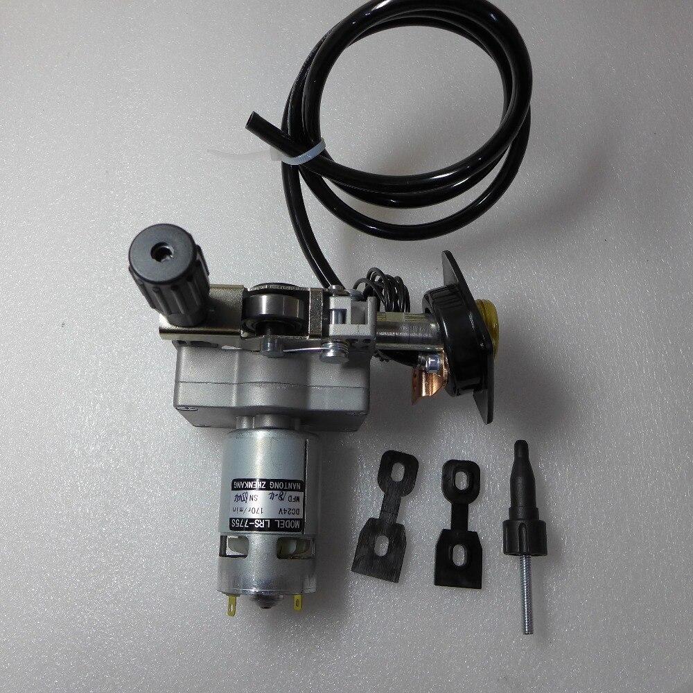 12 v ZY775 LRS-775S 0,8-1,0 Roller Draht Feed Montage Draht Feeder Motor Euro Stecker MIG MAG Schweißen Maschine schweißer
