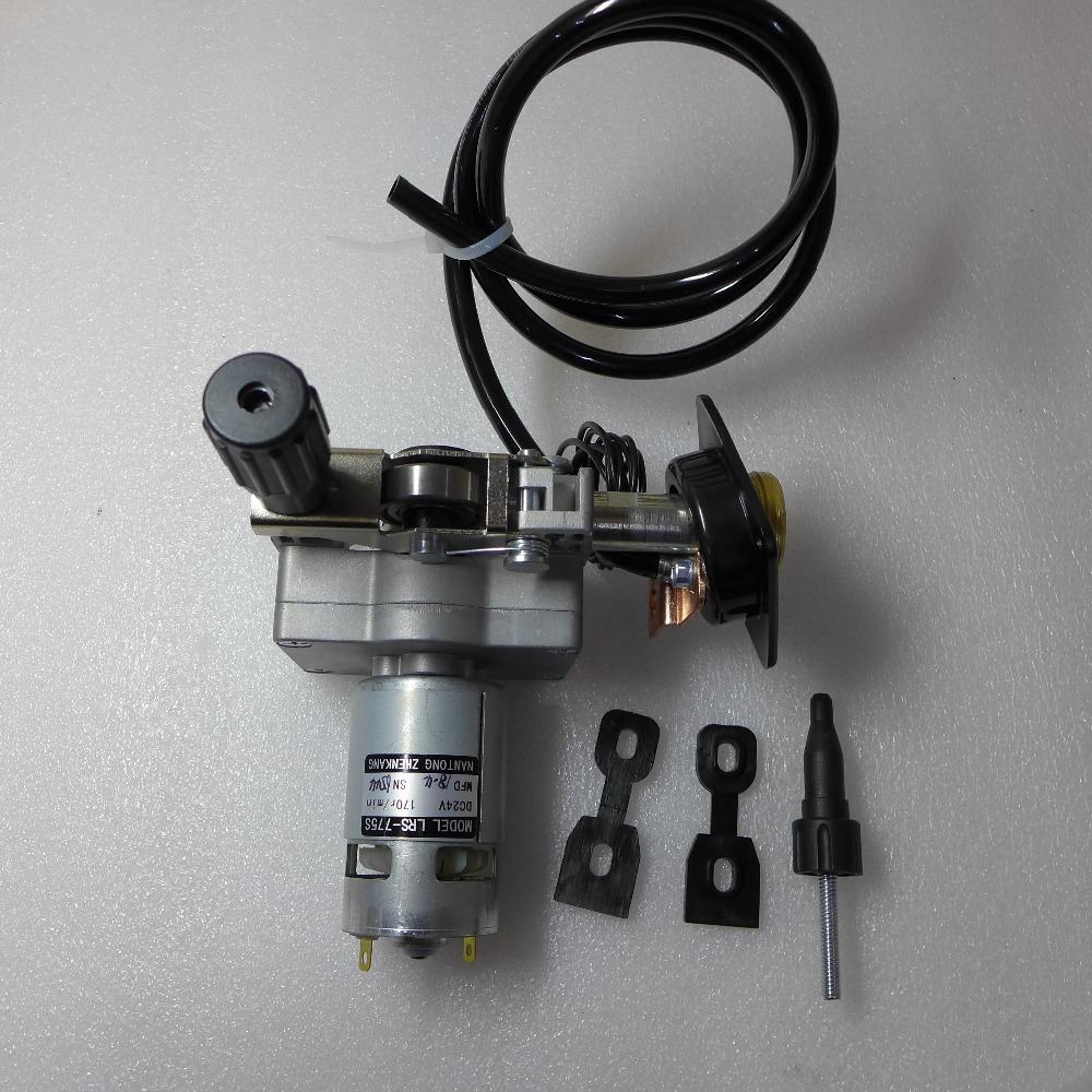 12V ZY775 LRS-775S 0.8-1.0 Roller Wire Feed Assembly Wire Feeder Motor Euro Connector MIG MAG Welding Machine Welder