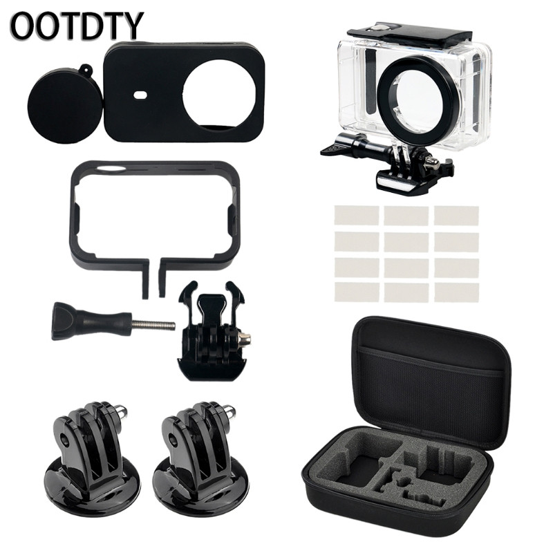 OOTDTY Camera Accessories Set Kits For Xiaomi For Gopro Hero 5 4 SJCAM Supplies New