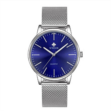 Watches Top Brand Luxury Stainless Steel Golden Mesh Casual Bracelet Wrist Watch Male Gift Reloj Mujer Fashion & Casual Quartz paidu brand new fashion stainless steel mesh band strap bracelet turntable wrist watches gift for men women best gift
