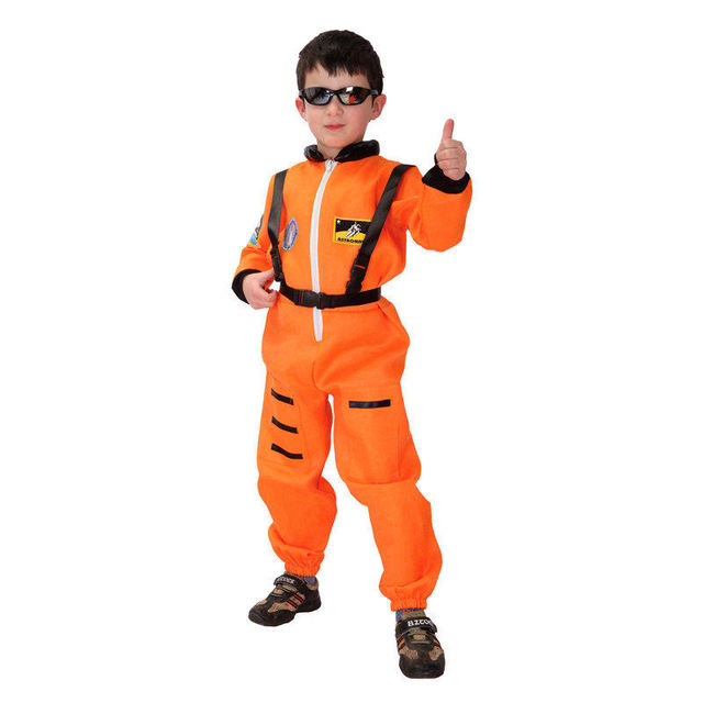 Quality Orange NASA Astronaut Child Costume Ready To Be A Little Spaceman  For Trick Or Treat - Aliexpress.com : Buy Quality Orange NASA Astronaut Child Costume