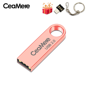 Image 3 - CeaMere C3 USB Flash Drive 16GB/32GB/64GB Pen Drive Pendrive USB 2.0 Flash Drive memory stick USB disk 3 di Colore USB FLASH DRIVE