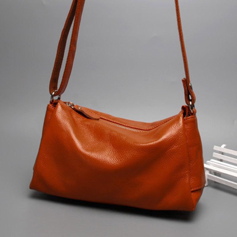 2018 Mode Sacs Doux Black À red Grande D'épaule Hb369 Cuir Pour Femmes Casual Sac Messenger Simple orange blue Main En Capacité P4rPwq