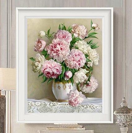 Online Shop Diy 5d diamant schilderen kruissteek bloemen Diamant ...