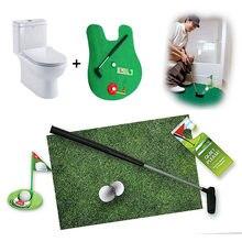 eaf076f77 2019 nuevo de accesorios de Golf juego de Golf Mini baño poner verde  novedad juego de alta calidad para hombres y mujeres bromas.