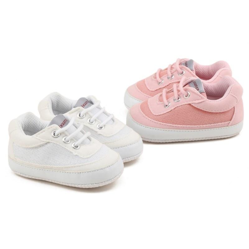 Mieli kūdikių avalynė kūdikis kvėpuojantis minkštas laisvalaikio batų, vaikiškų vaikiškų batų, vaikams Vaikų vaikiškų sportinių batelių 0-18M