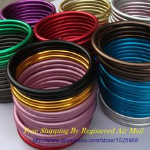 Free Shipping 1 pair 3″ High Quality Safety Aluminium Sling Rings Stock Making Your Adjustable Baby Sling