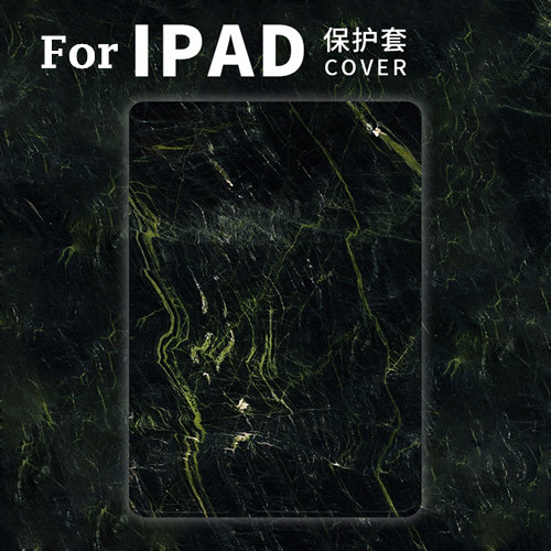 Green Marble Magnet PU Leather Case Flip Cover For iPad Pro 9.7 10.5 Air Air2 Mini 1 2 3 4 Tablet Case For New ipad 9.7 2017 mimiatrend tige for apple ipad air 1 2 air2 flip pu leather case smart cover for new ipad 9 7 2017 tablet case for ipad pro 9 7