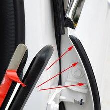 2 Stuks Auto Deur Rubber Afdichting Strip Filler Auto Deur Tochtstrip Voor B Pijler Bescherming Kit Strip Kit Voor Auto