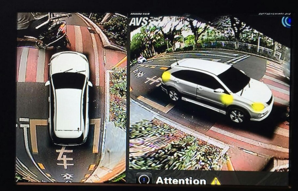 Newst Car Multi angle Camera 3D View Surround View System 360 Degree Bird View Panorama System