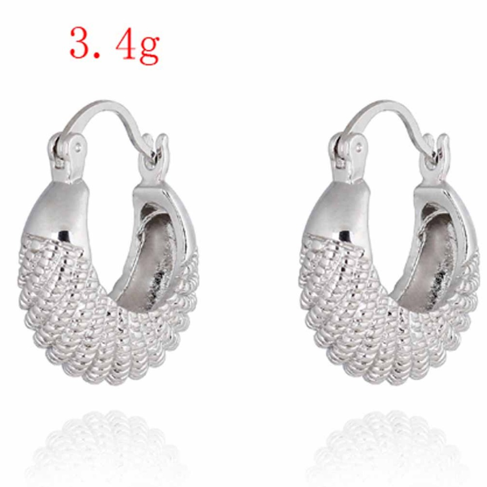 Summer style Fashion Gold Earring CC Simple Design Fine Jewerly ...