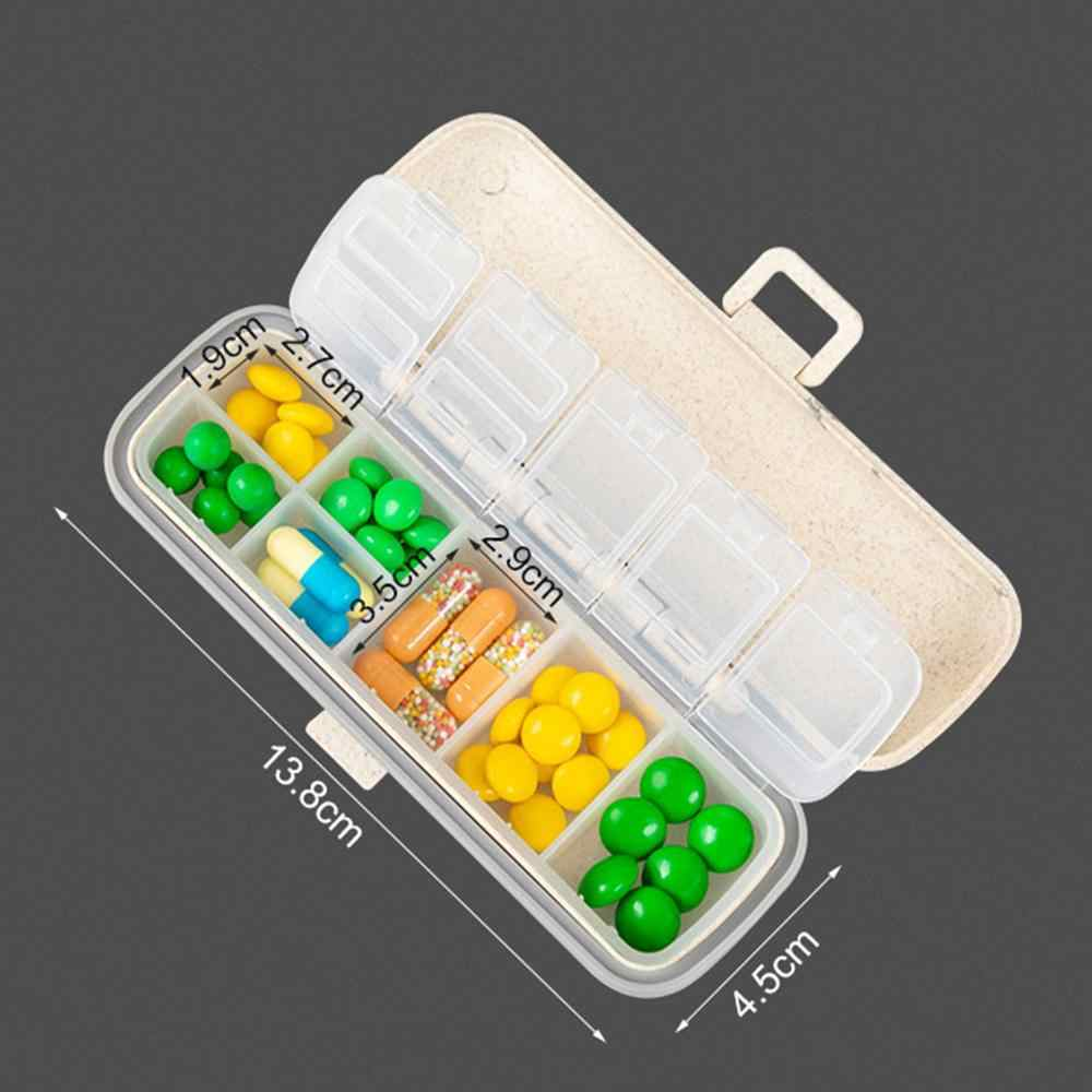 Pill Box 7 Day Medicine Tablet Dispenser Organizer Weekly Storage Case Extra for AM PM Plastic  Weekly Pill Box  Extra Large Y20