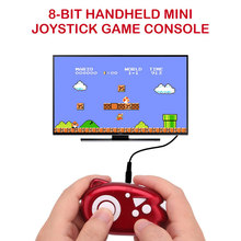 10 шт. игровая консоль поддержка ТВ AV выход портативная игровая консоль видеоигры Bulit в 89 игр для лучшего детского подарка