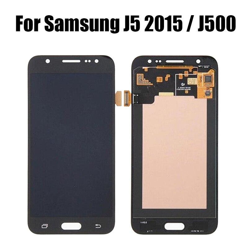Super AMOLED LCD pour Samsung Galaxy J5 2015 J500 LCD écran tactile numériseur pour J500F J500FN J500H J500M écran LCD